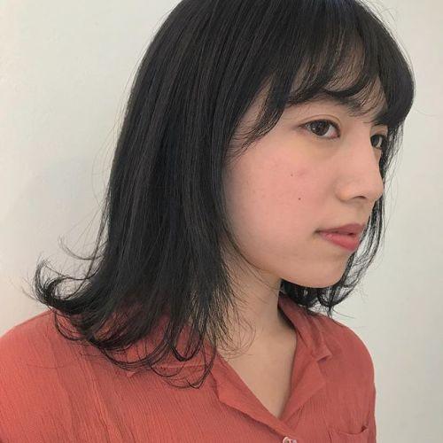 担当シオリ @shiori_tomii ダークグレーでトーンダウン🦌#hearty#shiori_hair #ダークグレー#トーンダウン#ヘアカラー#ヘアスタイル#高崎美容室#高崎