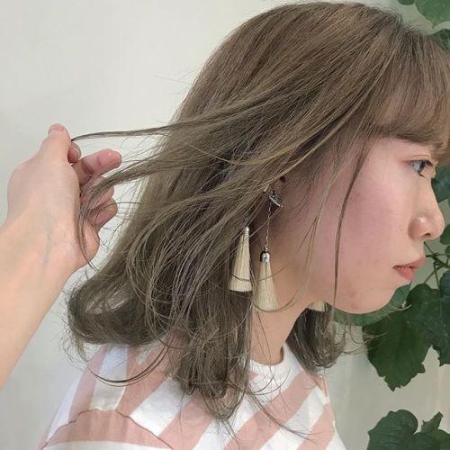 担当シオリ @shiori_tomii ケアブリーチしてベージュに目指せブロンドしていきます!#hearty#shiori_hair #ブロンド#ベージュ#アッシュベージュ#ヘアカラー#ヘアスタイル#高崎美容室#高崎