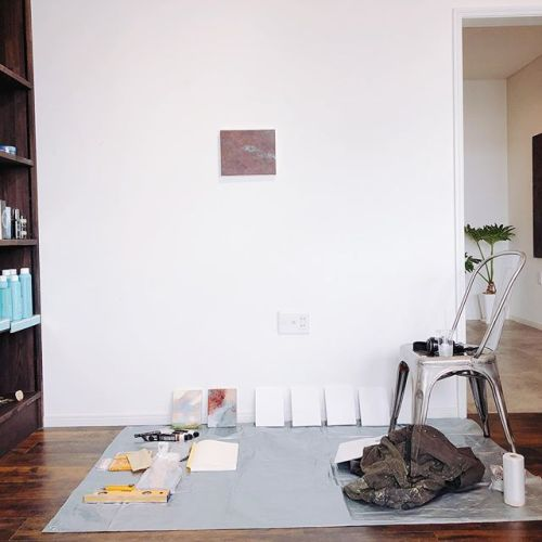 西田優史 絵画の場所 展最終日。Live paint まもなく始まります。#Livepaint #art #artist #西田優史 #京都市立芸術大学 #大学院 油絵#アクリル#hearty @nishida_masafumi