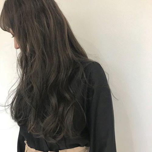担当シオリ @shiori_tomii ブリーチなしのアッシュベージュ柔らかさ抜群です!#hearty#shiori_hair #アッシュベージュ#アッシュ#グレージュ#ヘアカラー#高崎美容室#高崎