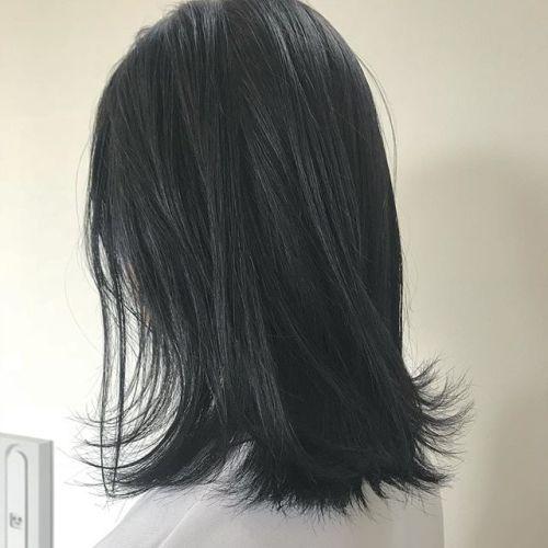 担当シオリ @shiori_tomii ダークグレージュ🕷🕷#hearty#shiori_hair #ダークグレージュ#ダークグレー#グレージュ#ヘアカラー#高崎美容室#高崎