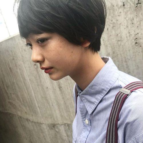 autumn サイドのシルエットも綺麗に上品に・こんな可愛い中学生ですが、実は眼科でモデハンさせて頂きました。@shun09250 #hair#mash#autumn#goody