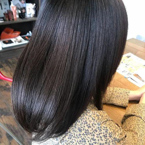 担当シオリ @shiori_tomii ロイヤルトリートメントでサラツヤhair♡#hearty#shiori_hair #ロイヤルトリートメント#トリートメント#ツヤ髪#高崎#高崎美容室#群馬#群馬美容室