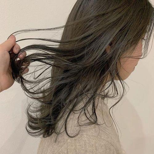 担当シオリ @shiori_tomii 外国人風カラーやわらかモカベージュ#hearty#shiori_hair #モカベージュ#くすみカラー#透明感カラー#地毛風カラー#高崎美容室#群馬美容室#高崎#群馬