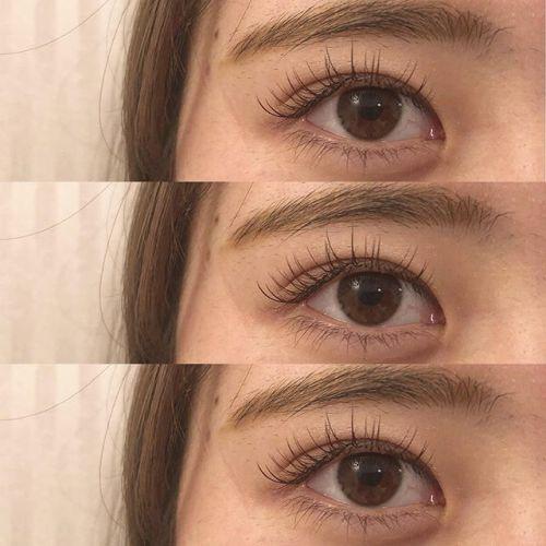 .HEARTY Eyelash︎.ブラウンのまつげでナチュラルに可愛く.eyelist : @__ememr .#HEARTY #eyelash