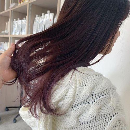 担当シオリ @shiori_tomii ピンクグラデーション🥀🥀#hearty#shiori_hair #ピンクグラデーション#グラデーション#ピンク#カラーバター#高崎美容室#群馬美容室#群馬#高崎