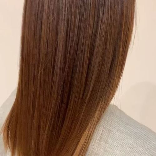 担当シオリ @shiori_tomii ロイヤルトリートメント♡サラツヤです♡#hearty#shiori_hair #ロイヤルトリートメント#トリートメント#ケア#艶髪 #艶#高崎美容室#群馬美容室#高崎#群馬