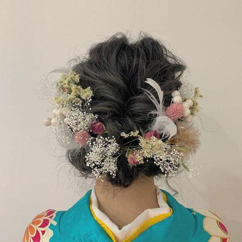担当シオリ @shiori_tomii 成人式ヘアセット#hearty#shiori_hair #成人式ヘアセット#成人式#成人式ヘア #ヘアセット#ヘアアレンジ#結婚式ヘアアレンジ #二次会ヘア #高崎美容室#群馬美容室#高崎#群馬