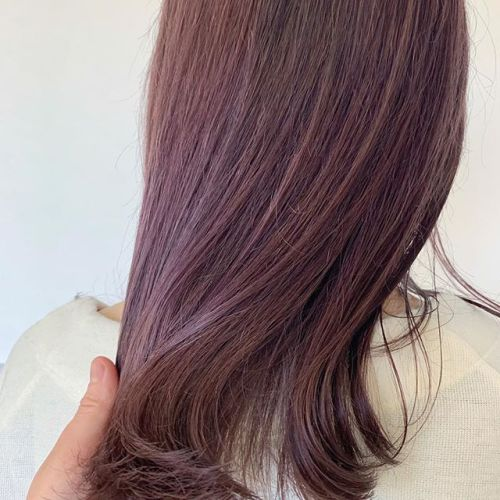 担当シオリ @shiori_tomii candypink color#hearty#shiori_hair #キャンディーカラー#ピンクカラー#ピンクヘアー #ハイトーン#ケアブリーチ#ブリーチ#高崎美容室#群馬美容室#高崎#群馬