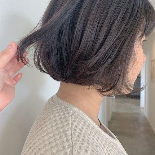 担当シオリ @shiori_tomii 透明感カラーのアッシュベージュ🥣#hearty#shiori_hair#透明感カラー#アッシュベージュ#ベージュ#高崎美容室#群馬美容室#高崎#群馬