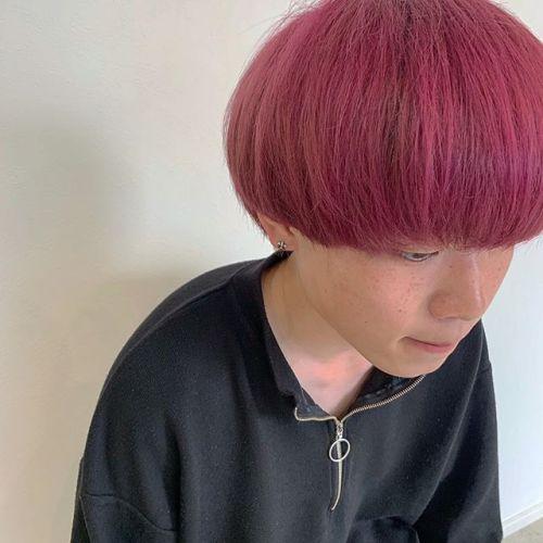 担当シオリ @shiori_tomii ピンクヘア#hearty#shiori_hair #ピンクカラー#キャンディピンク#ピンクヘア#高崎美容室#群馬美容室#高崎#群馬