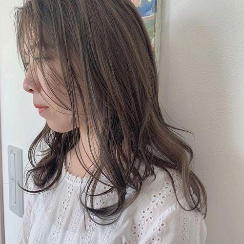 担当シオリ @shiori_tomii ロイヤルベージュ🥣透明感のある柔らかベージュはお任せ下さい♡#hearty#shiori_hair #ロイヤルベージュ#ベージュ#アッシュベージュ#高崎美容室#群馬美容室#高崎#群馬