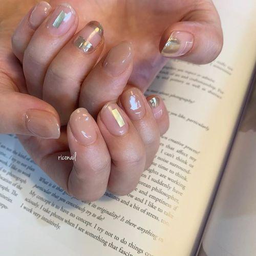 ぽこっとしたベージュがかわいい♡̷#riconail #HEARTY #abond #nail #nails #gelnail #gelnails #nailart #nuancenail #ネイル #ジェルネイル #ネイルケア #ニュアンスネイル @riconail123