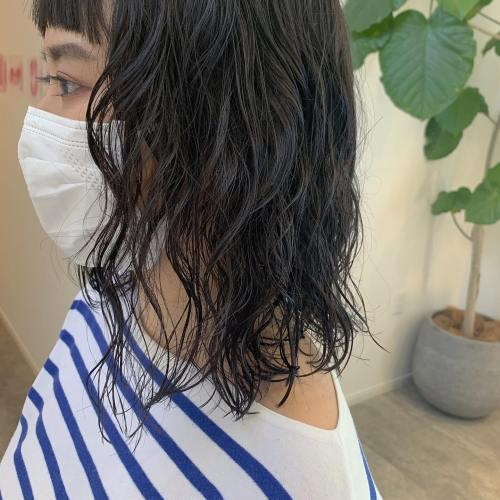 担当シオリ @shiori_tomii 最近オススメのパーマスタイルしっかりかけてラフに結んだり、夏におすすめです#hearty#shiori_hair #パーマ#パーマスタイル #高崎美容室#群馬美容室#高崎#群馬