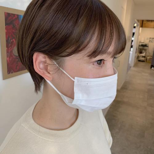 stylist シオリ @shiori_tomii #hearty#shiori_hair #ショートヘア #ショート #ショートカット #ショート女子 #高崎美容室#群馬美容室#高崎#群馬