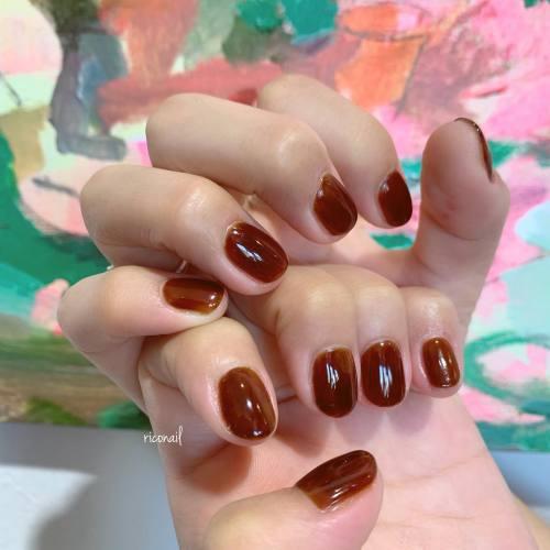 ぷっくりツヤツヤ#riconail #HEARTY #abond #nail #nails #gelnail #gelnails #nailart #instanails #nailstagram #beauty #fashion #nuancenail #ネイル #ジェルネイル #ネイルケア #ニュアンスネイル #個性派ネイル @riconail123