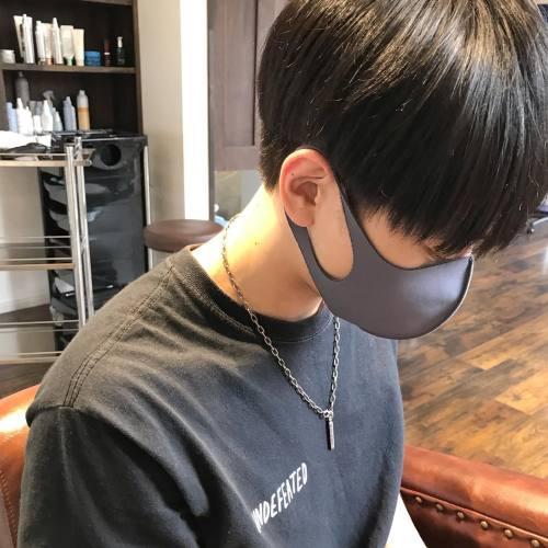 韓国マッシュ!!!担当野上#メンズカット#メンズヘア#メンズファッション#センターパート#マッシュヘア#マッシュ#群馬#群馬美容室#高崎#高崎美容室