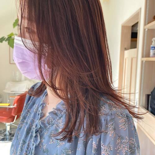 担当シオリ @shiori_tomii アプリコットオレンジおフェロバングも作って、アレンジの時にもめちゃくちゃかわいいのでおすすめです♡#hearty#shiori_hair #オレンジ#オレンジカラー #オレンジブラウン #アプリコットオレンジ #おフェロヘア #おフェロバング #高崎美容室#群馬美容室#高崎#群馬