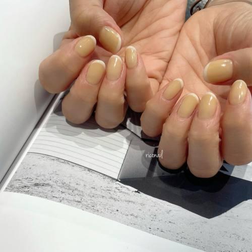優しい色♡#riconail #HEARTY #abond #nail #nails #gelnail #gelnails #nailart #nuancenail #footnail #高崎美容室 #ネイル #ジェルネイル #ネイルケア #フレンチネイル #ニュアンスネイル @riconail123