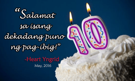 Happy 10th Anniversary, Heart Yngrid!