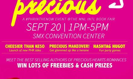 Preciously Precious (An MIBF 2015 Event)