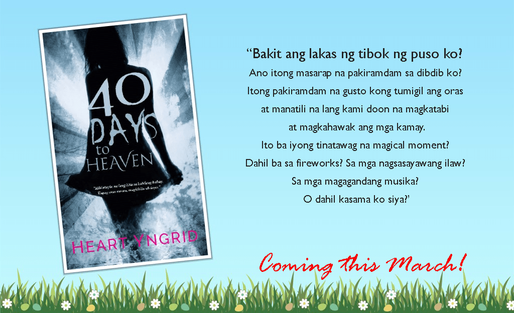 [COVER REVEAL] 40 Days To Heaven