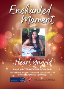 Book signing @ The 40th MIBF @ SMX Convention Center, SM Mall Of Asia