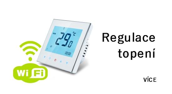 regulace topení termostat