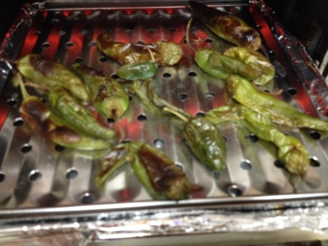 Roasted peppers. . .yum.