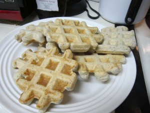 Waffles from The Joy of Gluten-Free, Sugar-Free Baking