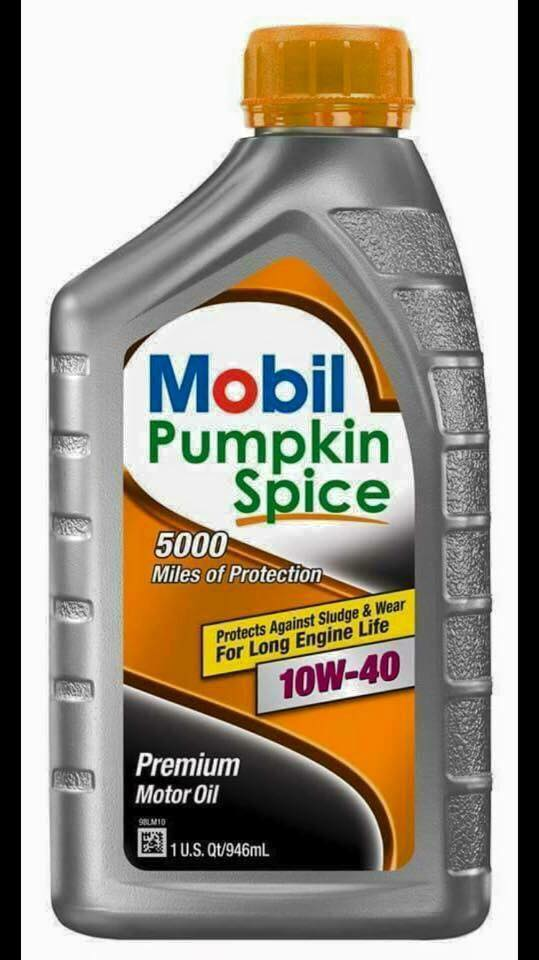 Because you love pumpkin THAT MUCH.