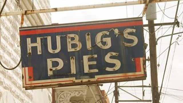 The original bakery on Dauphine Street.