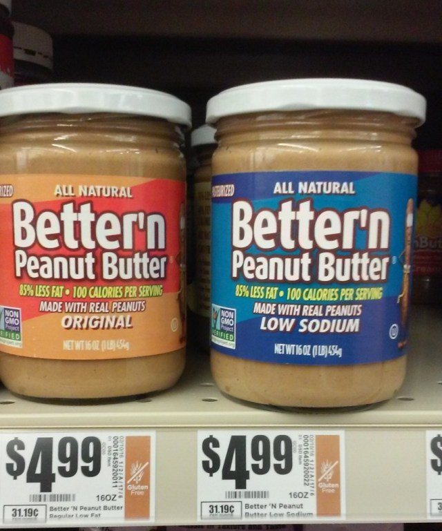 What the heck is better than peanut butter?