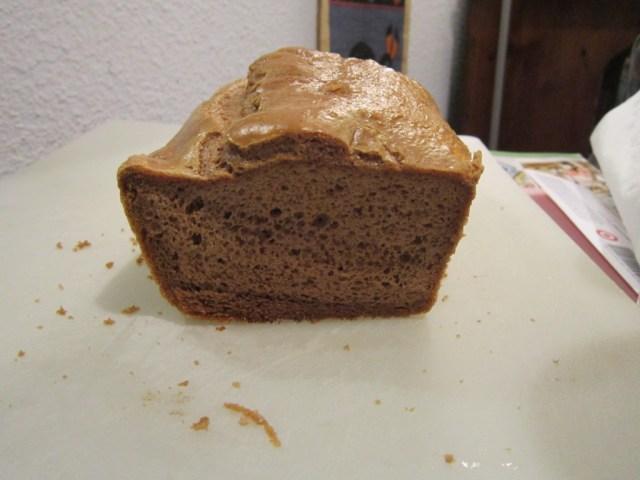 Tah-Dah! Cashew Bread! (It even looks like Elena's.)