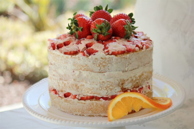 In The Garden Of Strawberry Cake, from the Trader Joe's website article.