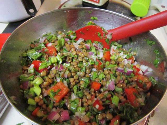 Cool Lentil Salad