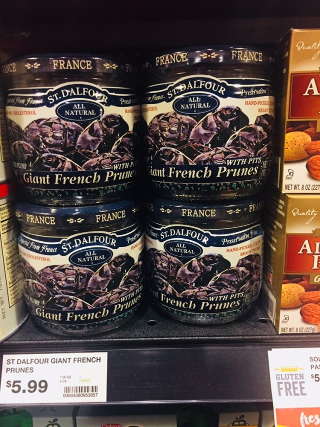 Jars of French Prunes