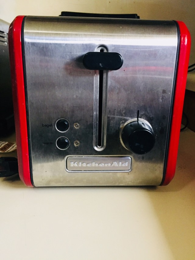 Red Kitchenaid Toaster