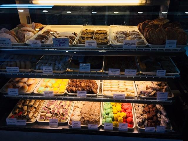 Angelo Brocato's second bakery case