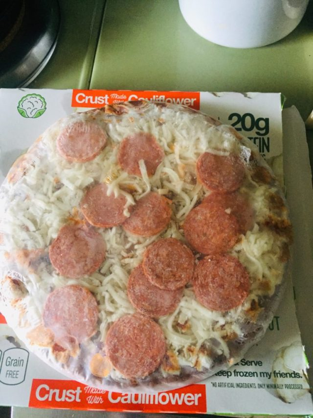 Realgood Cauliflower pizzas