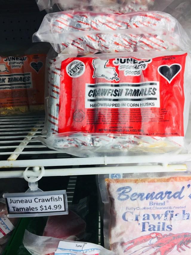 Pack of Crawfish tamales