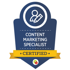 Content Marketing Badge