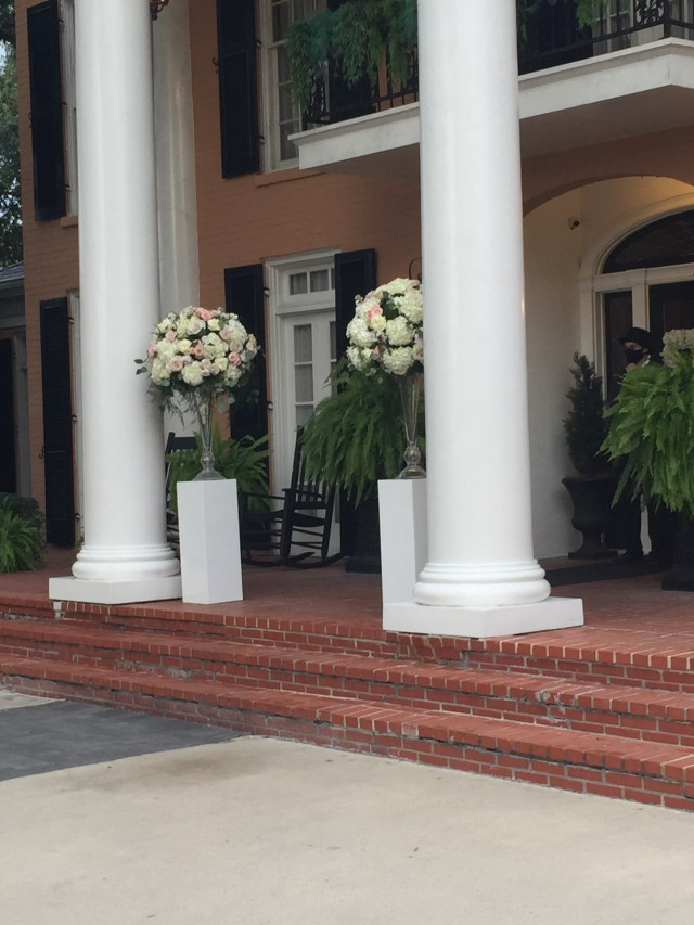 Southern Oaks Front door for wedding