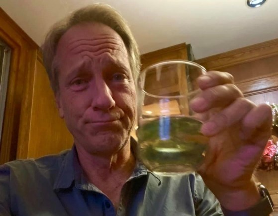 Mike Rowe drinking to 2022