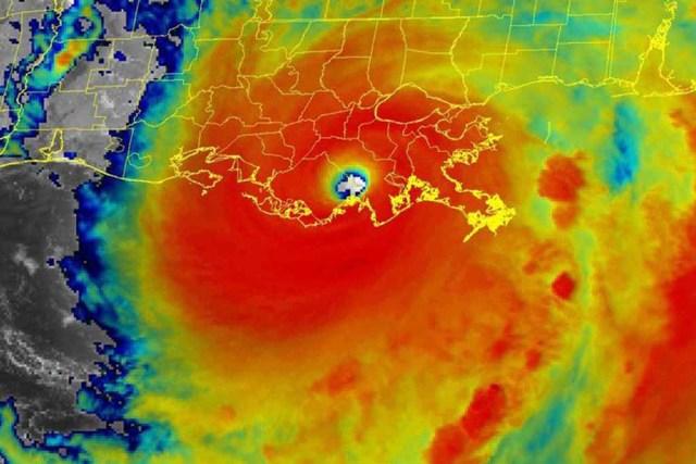 Picture of Hurricane Ida