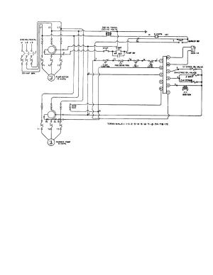 Figure 5 HOT OIL HEATER WIRING DIAGRAM, 230 VOLT