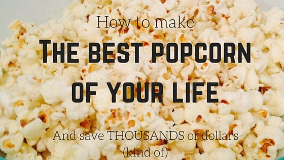 how to make popcorn on your stove