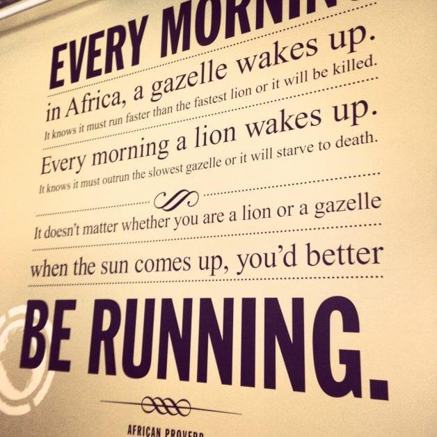 The Reason I Wake Up Early Every Day: Sacrifice