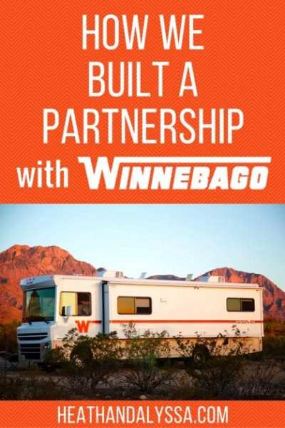 Learn how we built a partnership with Winnebago and other large companies in the RV and camping industry.