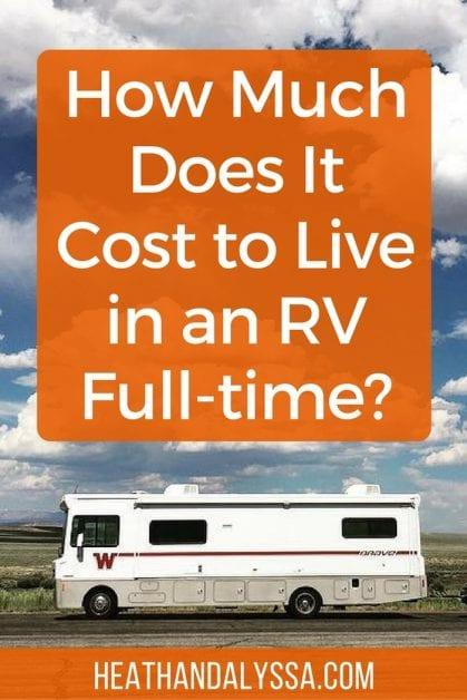 Rv hookup costs